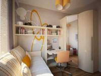 Детская 18 кв. м. —  советы по размещению основных элементов мебели. 115 фото идей визуализации интерьера