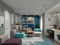 Детская 20 кв. м.: примеры грамотного оформления дизайна интерьера просторной детской комнаты (115 фото)