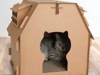Домик для кошки своими руками — варианты применения в дизайне интерьера и обзор лучших материалов