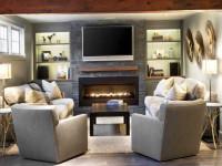 Гостиная с камином: лучшие идеи дизайна и варианты оформления каминов в современных гостиных
