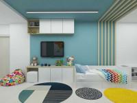 Интерьер детской комнаты — лучшие проекты и варианты оформления комнат для детей (115 фото)