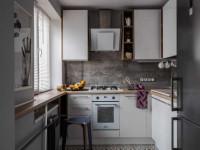 Интерьер и планировка кухни 6 кв. м. — классные решения и актуальные стили кухонного дизайна (175 фото)