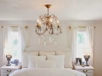Люстра в спальню — советы дизайнеров по созданию комфортного и достаточного освещения (135 фото)
