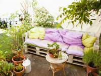 Мебель из поддонов (паллет) —  предметы декора и простые решения по оформлению интерьера мебелью из поддонов
