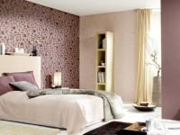 Обои для спальни — правила комбинирования обоев и примеры использования в реальных интерьерах (150 фото)