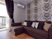 Отделка стен в гостиной — оригинальные идеи и красивые современные решения по оформлению стен