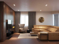 Ремонт в гостиной — подробное описание как выполнить просто и быстро качественный и стильный ремонт