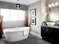 Серая ванная комната: красивые примеры оформления ванной комнаты в серых цветах