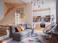 Совмещенные гостиные — интересные идеи, варианты зонирования и советы по выбору стиля