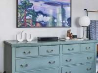 Высота телевизора в спальне — особенности размещения TV в дизайне интерьера спальни. Советы экспертов и 130 фото